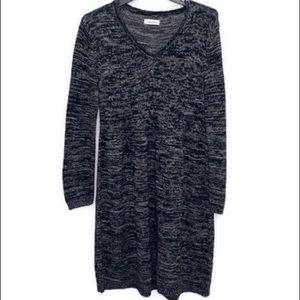 Calvin Klein   V Neck Sweater Dress